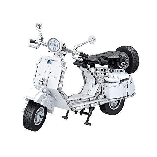 Great Features Of ZMIN Model Car,Motorbike DIY New Pedal Motorcycle Building Blocks Bricks Education...