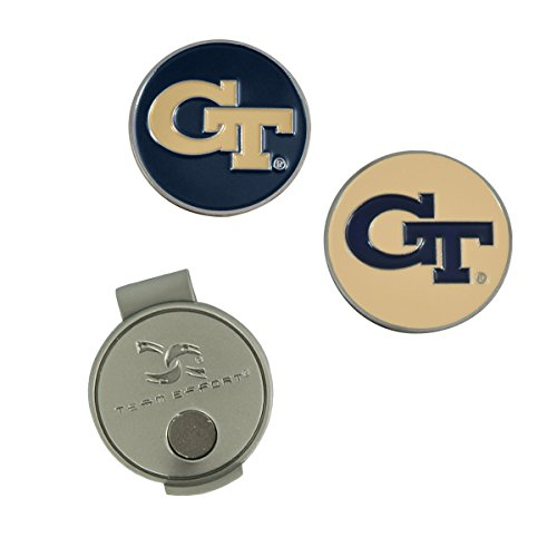 Team Effort Georgia Tech Yellow Jackets Hat Clip & 2 Ball Markers