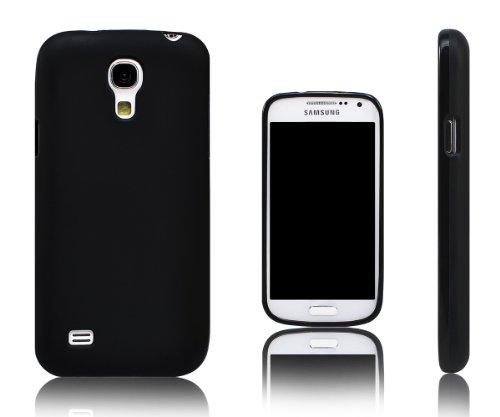 Xcessor Vapour Étui Coque Housse pour Samsung Galaxy S4 Mini i9190 / i9192 / i9195. Flexible TPU Gel. Noir