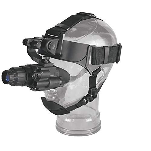 WOTR Nachtsichtgerät Fernglas, Infrarot-Nachtsichtgerät Teleskop, Mounted Kopf Nachtsicht für wild lebende Tiere Jagd Erkennung Beobachtung