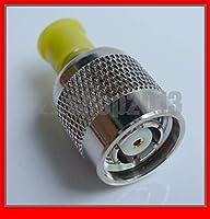 FENGYI KEJI 10 pcs RF Coaxial adapter RP-TNC Plug(Jack Pin) to SMA Jack Straight