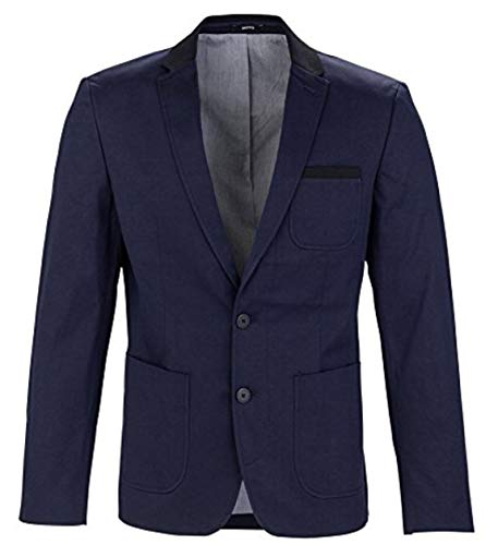 MEXX Herren Sakko Classic blazer with tailored twist, Gr. 46, Dunkel blau (Sky Captain 067)
