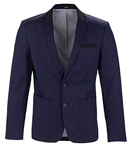 MEXX Herren Sakko Classic blazer with tailored twist, Gr. 50, Dunkel blau (Sky Captain 067)