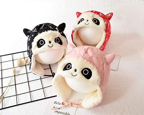 SLONG Bébé Chapeau Casque Chaud Bébé Chapeau Hiver Panda Plus Velours Lei Feng Chapeau Hommes Et Femmes Chapeau Sauvage Enfants Automne,Three