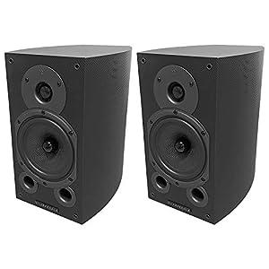 Wharfedale Diamond 9.1 Speakers Carbon Fibre (Pair) by Wharfdale
