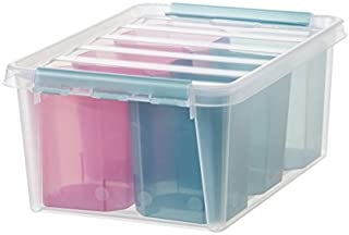 SmartStore - Box 15Inserts - Boîte de Rangement avec Compartiments - Plastique - Couleur - S - Taille Unique