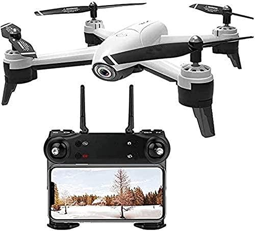rzoizwko Drone, cámara Dual de Flujo óptico Ultra Claro 4K, cuadricóptero, Control Remoto de Drones aéreos, Ajuste de la Velocidad de detección de Gestos de la aeronave, despegue y Aterrizaje con una