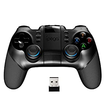 Mutop Wireless 4.0+2.4G Wireless Gamepad Trigger Pubg Controller Mobile Joystick Compatible iOS/Android Mobile Phone/Tablet/PC - IPEGA PG-9156