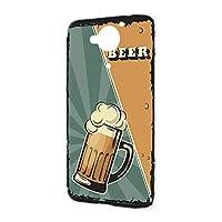 ハードケース スマホケース AQUOS Xx 404SH 用 BEER ビール・グリーン ビンテージ アメリカン レトロ USA SHARP シャープ アクオス ダブルエックス ymobile ワイモバイル スマホカバー 携帯ケース けーたいカバー beer_00z_h191@03