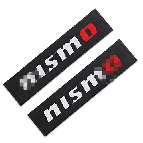 Sicherheitsgurt-Schulter-Auflage-Kissen Für Nissan Almera JUKE LEAF MICRA NAVARA NISMO HINWEIS Pathfinder PATROL QASHQA SENTRA X-TRAIL Autogurt Schulter Schutzpolster ( Color : For Nissan NISMO )