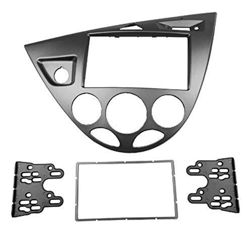 YINQIU Doppel-DIN-Stereo-Panel Fit for Ford Fiesta Fokus Fascia-Radio Refitting Dash Montage Installation Trim Kit...