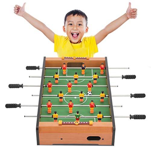ZXQZ Tischbillard Tischfußball mit Bällen, Indoor Outdoor Fußballspiel für Kinder Familie Spielen Sie Sportspaß Piłkarzyki