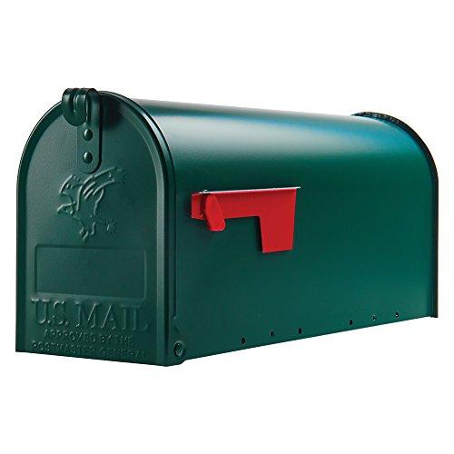 Origineel USS. Mailbox - Elite - stalen brievenbus groen T1