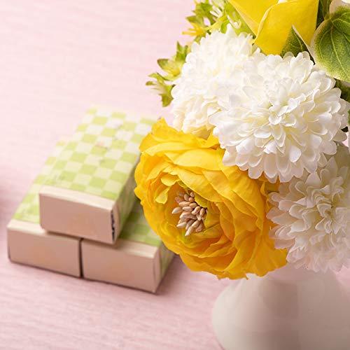 御供 造花 アーティフィシャルフラワー仏花 と抹茶和ショコラセット