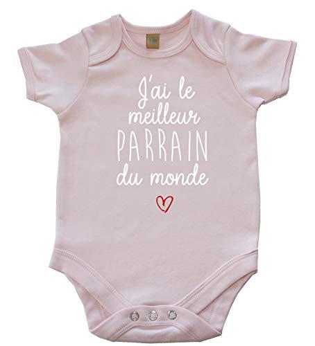 DSTNY Body bébé J'Ai Le Meilleur Parrain du Monde vêtement Naissance pour Les baptêmes Parrain