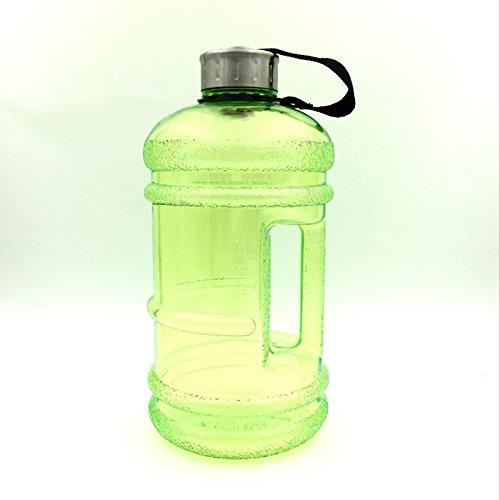 Veryeah 2.2L Große Wasserflasche Kunststoff Getränkekappe Wasserkocher für Gym Outsport Sport Wandern Radfahren
