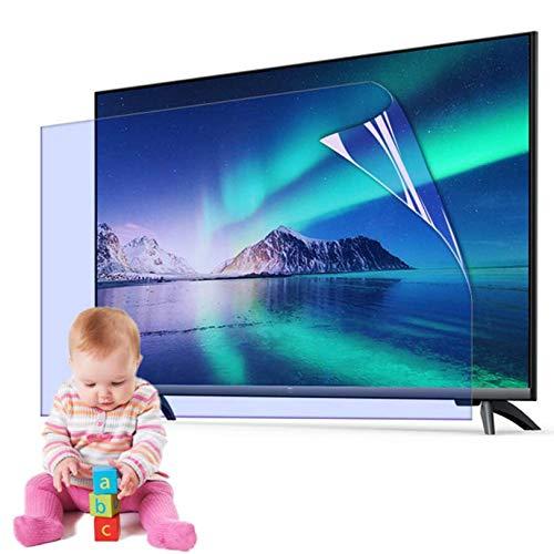 Televisor Pantalla Protector por 32-65 Pulgada, Anti reflejante Anti-rasguños Monitor Pantalla Protector, Película Aliviar Ojo Fatiga por LCD, LED,46 Inch