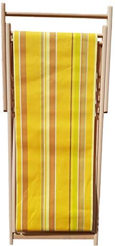 Chaise longue transat chilienne Topaze - Toiles du Soleil
