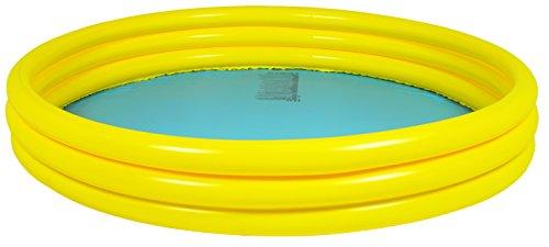 Jilong Plain Pool Ø 157 x 25 cm Kinderpool Planschbecken Schwimmbecken Kinder Schwimmbad für Garten und Terasse