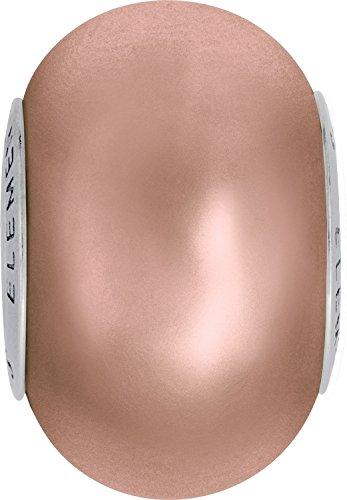 Cristaux de Swarovski 1177201 Perles Nacrées 5890 MM 14,0 Crystal ROSPEPEARL Steel, 12 Pièces
