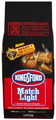 Kingsford Match Light Charcoal Briquets 6.2 lb Bag
