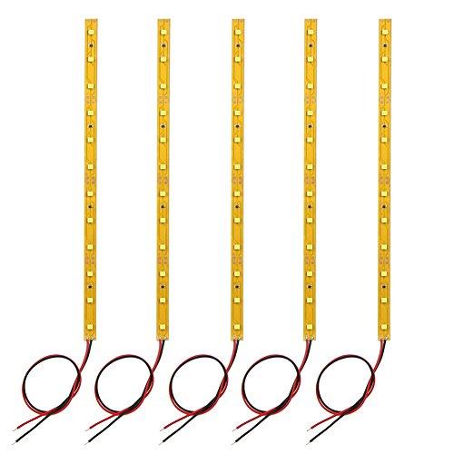 Evemodel DD05WM 5 STK. 12-LED Beleuchtung Waggonbeleuchtung 20cm warmweiss mit Kabel