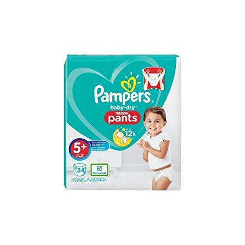 Baby-Dry Pants 34 Windeln, leicht anzuziehen, T5+