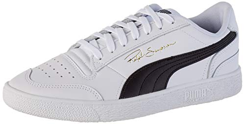 PUMA Ralph Sampson Lo, Scarpe da Ginnastica Unisex-Adulto, Bianco White Black White, 42 EU