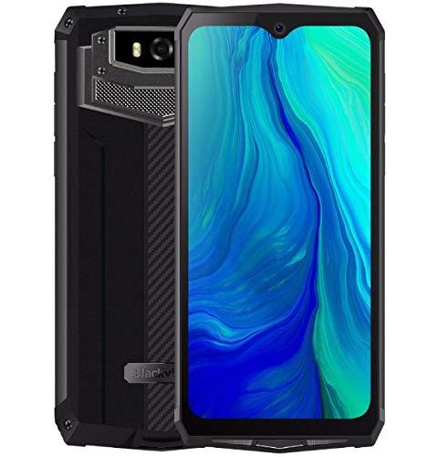 Blackview Rugged (2019) BV9100 Smartphone Robusto, Batteria 13000 mAh (60 Giorni in Standby), 6,3 pollici FHD +, Android 9.0, Octa Core 4GB + 64GB, 30 Wi ricarica rapida, 16MP + 16MP NFC OTG grigio