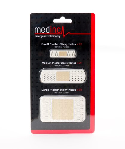 Pflaster Haftnotizen ideal für Arzt oder eine Krankenschwester Heftpflaster