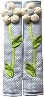 2PCS Flower Small Dot Cotton Refrigerator Door Handle Cover For Winter Home Decoration Kitchen Accessories