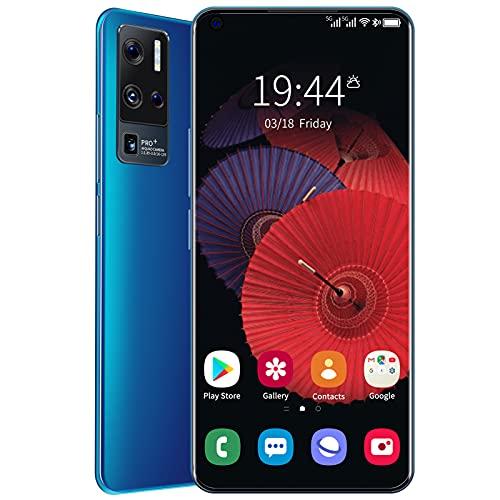 WENTING OnePro 9+ Smartphone, Telefono Cellulare 4+ 64G, Telefono con Schermo Waterdrop Ultra HD da 6,8 Pollici, Telefono Cellulare Dual SIM Sbloccato,Deep Blue