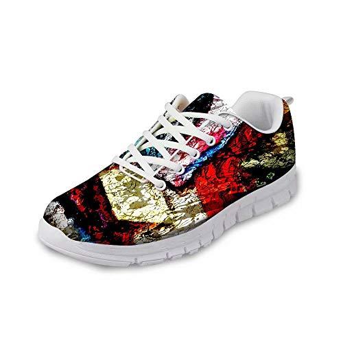 MODEGA Arte de Zapatillas Deportivas de los Hombres de los Muchachos los Zapatos de Bolos Zapatos Tenis Zapatos Cruz Entrenador de Tenis Baratas Tamaño 44 EU