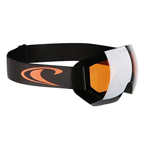 O'Neill Snow Goggles Rookie | Schwarz Orange | Ski & Snowboard Brille | Hochwertige Qualität