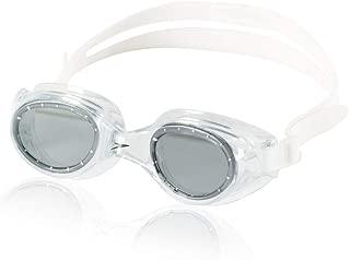 Speedo Adult Boomerang Goggle - Black & Smoke