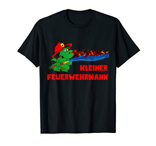 Kleiner Feuerwehrmann Design der Feuerwehr T-Shirt