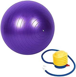 كرة تمارين رياضية للبيلاتس واليوجا واللياقة البدنية وصالة الالعاب الرياضية مقاس 75 سم