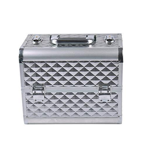 Maquillage Professionnel Case Cosmetic Box Beauty Case for Salon/Beauty Studio/Makeup Artist/Nail Technician