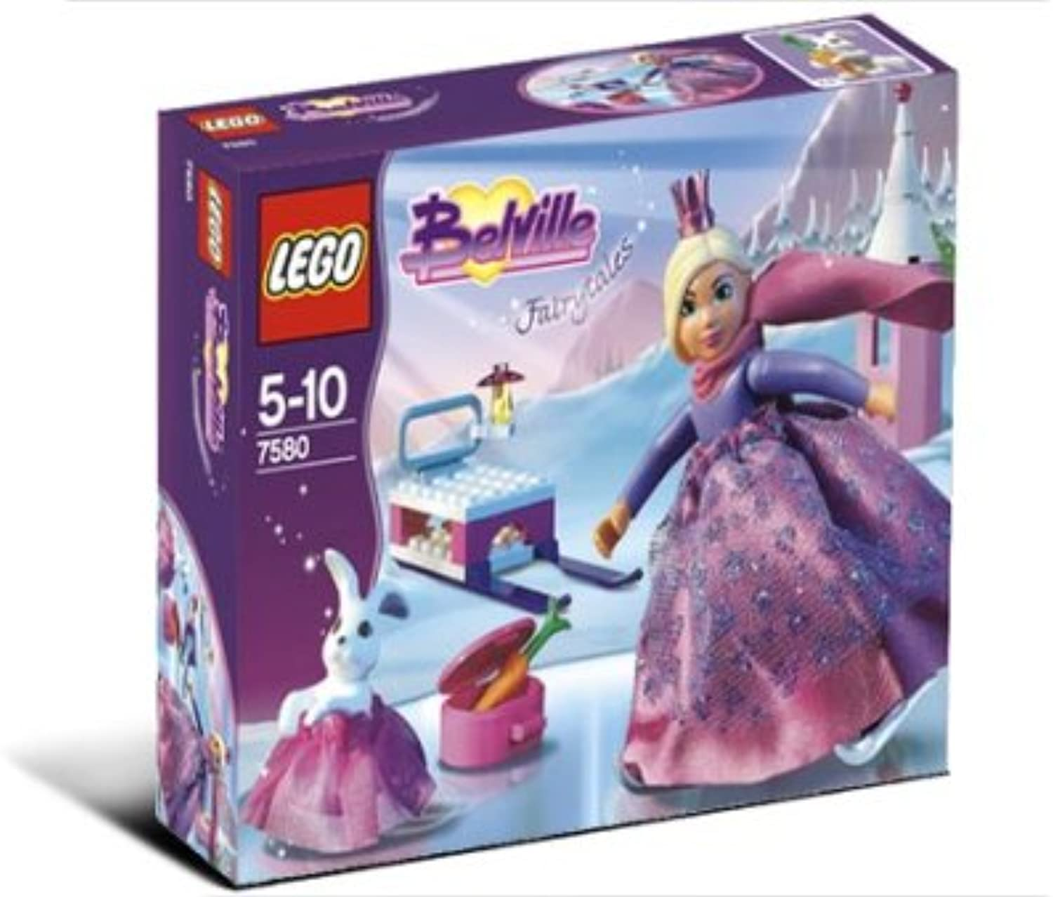 LEGO Belville 7580 The Skating Princess