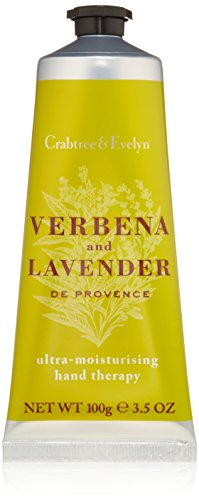 Crabtree & Evelyn Verbena and Lavender de Provence Ultra-Moisturising Hand Cream Therapy, 3.5 oz
