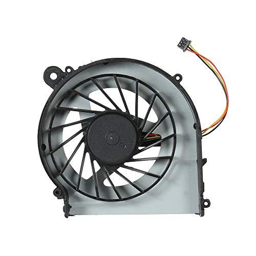 Docooler CPU Ventilador Refrigerador para HP G4 G6 G7 PC portátil 3 Pin 3-Wire