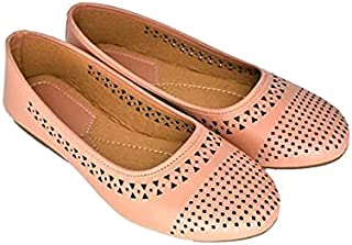 Family Fashion MART Women's Laser-Belly-Rose Gold (S.NO-14)