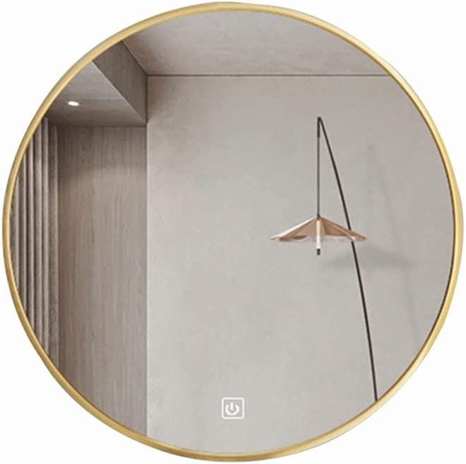 Round excellence LED Challenge the lowest price Bathroom Mirror Single Brightness Adjust Touch + Exp