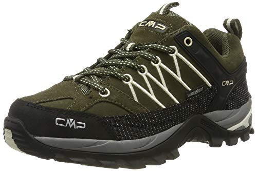CMP Damen Rigel Low Wmn Shoes Wp Trekking- & Wanderhalbschuhe, Grün (Loden-Rock 03fd), 36 EU