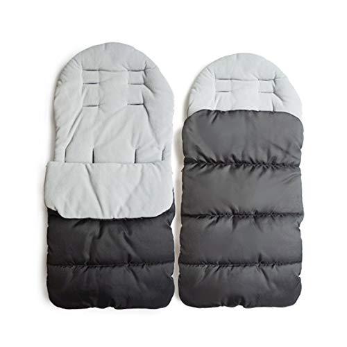 MHOYI Saco de dormir para bebé forro de algodón, para asiento de cochecito de bebé,cómodo y...