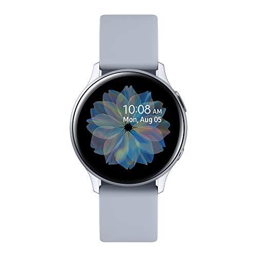 Samsung Galaxy Watch Active 2 (Bluetooth) 40mm, Aluminum, Cloud Silver