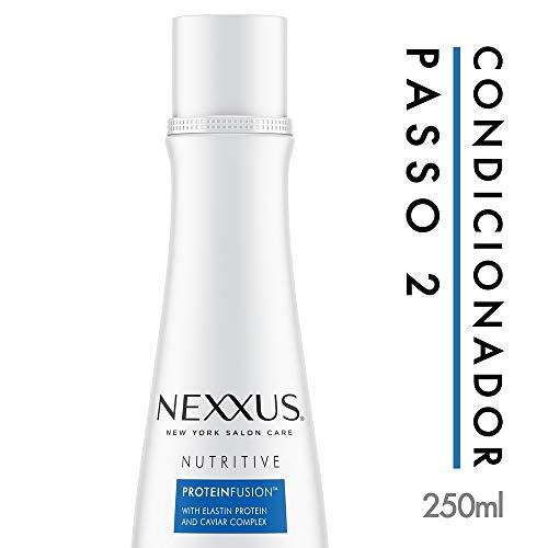 Nexxus Nutritive, feuchtigkeitsspendende und feuchtigkeitsspendende Spülung für Damen und Herren, professionelle Tiefenreinigung für trockenes Haar, 1er Pack (1 x 250 ml)