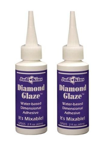 Judikins Diamond Glaze, 2-Ounce, Pack of 2 (GP005) by Judkins