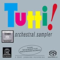 Tutti!: Orchestral Sampler [Hybrid SACD] by Oue: cnd/Minnesota Orch/Sere (2008-10-14)