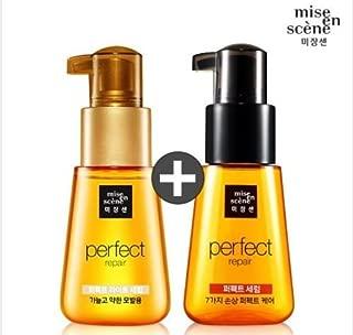Mise En Scene Perfect Repair & Light Serum Damaged Hair Essence (70ml+70ml)